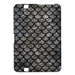 Scales1 Black Marble & Gray Stone (r) Kindle Fire Hd 8 9