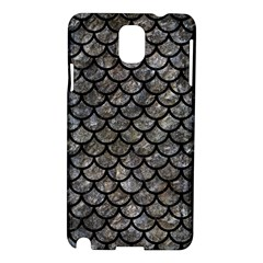 Scales1 Black Marble & Gray Stone (r) Samsung Galaxy Note 3 N9005 Hardshell Case