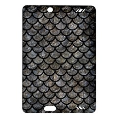 Scales1 Black Marble & Gray Stone (r) Amazon Kindle Fire Hd (2013) Hardshell Case