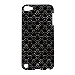 Scales2 Black Marble & Gray Stone Apple Ipod Touch 5 Hardshell Case