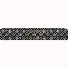 Scales2 Black Marble & Gray Stone (r) Small Bar Mats