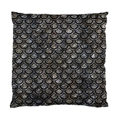 Scales2 Black Marble & Gray Stone (r) Standard Cushion Case (one Side)