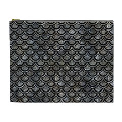Scales2 Black Marble & Gray Stone (r) Cosmetic Bag (xl)
