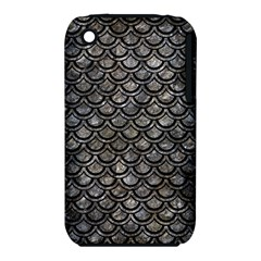 Scales2 Black Marble & Gray Stone (r) Iphone 3s/3gs