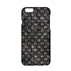 Scales2 Black Marble & Gray Stone (r) Apple Iphone 6/6s Hardshell Case