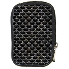 Scales3 Black Marble & Gray Stone Compact Camera Cases