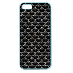 Scales3 Black Marble & Gray Stone Apple Seamless Iphone 5 Case (color)