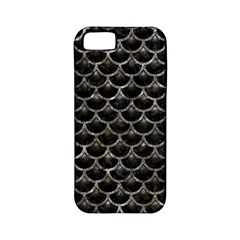 Scales3 Black Marble & Gray Stone Apple Iphone 5 Classic Hardshell Case (pc+silicone)