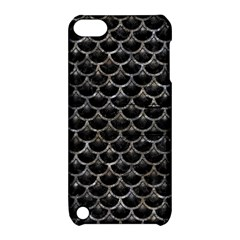 Scales3 Black Marble & Gray Stone Apple Ipod Touch 5 Hardshell Case With Stand