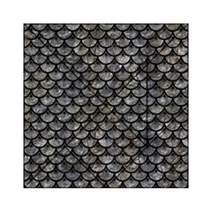 Scales3 Black Marble & Gray Stone (r) Acrylic Tangram Puzzle (6  X 6 )