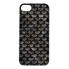 Scales3 Black Marble & Gray Stone (r) Apple Iphone 5s/ Se Hardshell Case