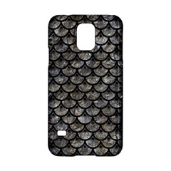 Scales3 Black Marble & Gray Stone (r) Samsung Galaxy S5 Hardshell Case