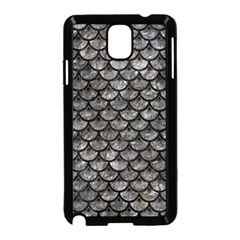 Scales3 Black Marble & Gray Stone (r) Samsung Galaxy Note 3 Neo Hardshell Case (black)