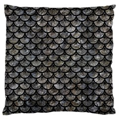Scales3 Black Marble & Gray Stone (r) Standard Flano Cushion Case (two Sides)
