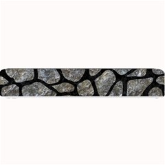 Skin1 Black Marble & Gray Stone Small Bar Mats