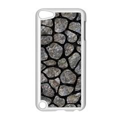 Skin1 Black Marble & Gray Stone Apple Ipod Touch 5 Case (white)