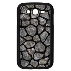 Skin1 Black Marble & Gray Stone Samsung Galaxy Grand Duos I9082 Case (black)