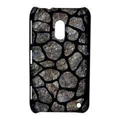 Skin1 Black Marble & Gray Stone Nokia Lumia 620