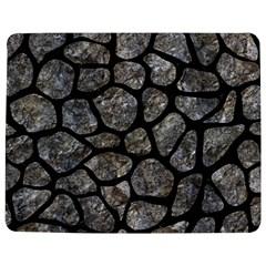 Skin1 Black Marble & Gray Stone Jigsaw Puzzle Photo Stand (rectangular)