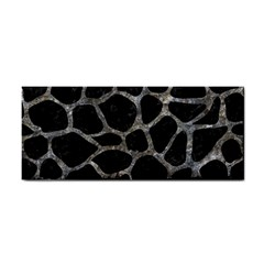 Skin1 Black Marble & Gray Stone (r) Cosmetic Storage Cases