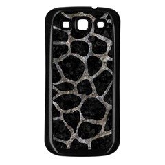 Skin1 Black Marble & Gray Stone (r) Samsung Galaxy S3 Back Case (black)