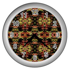 0911010017 Simsbury Wall Clocks (silver)