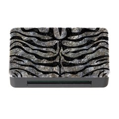 Skin2 Black Marble & Gray Stone (r) Memory Card Reader With Cf