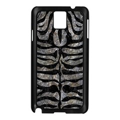 Skin2 Black Marble & Gray Stone (r) Samsung Galaxy Note 3 N9005 Case (black)
