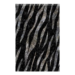 Skin3 Black Marble & Gray Stone Shower Curtain 48  X 72  (small)