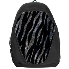 Skin3 Black Marble & Gray Stone Backpack Bag