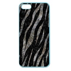 Skin3 Black Marble & Gray Stone Apple Seamless Iphone 5 Case (color)