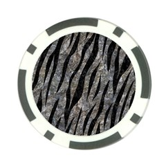 Skin3 Black Marble & Gray Stone (r) Poker Chip Card Guard (10 Pack)