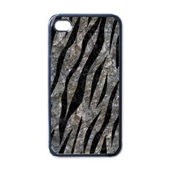 Skin3 Black Marble & Gray Stone (r) Apple Iphone 4 Case (black)