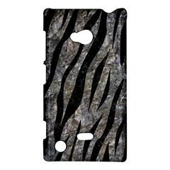 Skin3 Black Marble & Gray Stone (r) Nokia Lumia 720