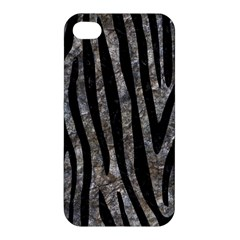 Skin4 Black Marble & Gray Stone Apple Iphone 4/4s Premium Hardshell Case