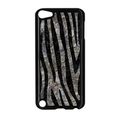 Skin4 Black Marble & Gray Stone Apple Ipod Touch 5 Case (black)