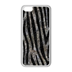 Skin4 Black Marble & Gray Stone Apple Iphone 5c Seamless Case (white)