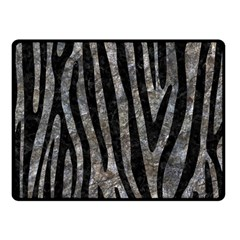 Skin4 Black Marble & Gray Stone Double Sided Fleece Blanket (small)