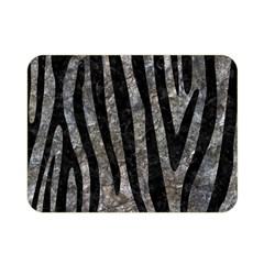 Skin4 Black Marble & Gray Stone Double Sided Flano Blanket (mini)