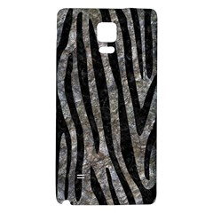 Skin4 Black Marble & Gray Stone Galaxy Note 4 Back Case