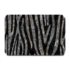 Skin4 Black Marble & Gray Stone (r) Plate Mats