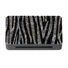 Skin4 Black Marble & Gray Stone (r) Memory Card Reader With Cf