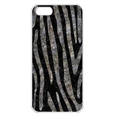 Skin4 Black Marble & Gray Stone (r) Apple Iphone 5 Seamless Case (white)