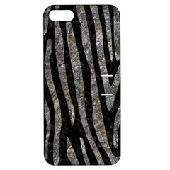 Skin4 Black Marble & Gray Stone (r) Apple Iphone 5 Hardshell Case With Stand