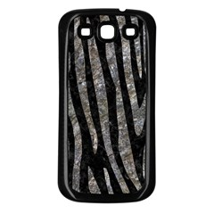 Skin4 Black Marble & Gray Stone (r) Samsung Galaxy S3 Back Case (black)