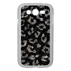 Skin5 Black Marble & Gray Stone (r) Samsung Galaxy Grand Duos I9082 Case (white)