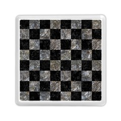 Square1 Black Marble & Gray Stone Memory Card Reader (square)