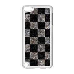 Square1 Black Marble & Gray Stone Apple Ipod Touch 5 Case (white)