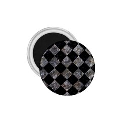 Square2 Black Marble & Gray Stone 1 75  Magnets