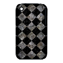 Square2 Black Marble & Gray Stone Iphone 3s/3gs